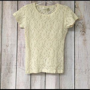 Lace blouse size S